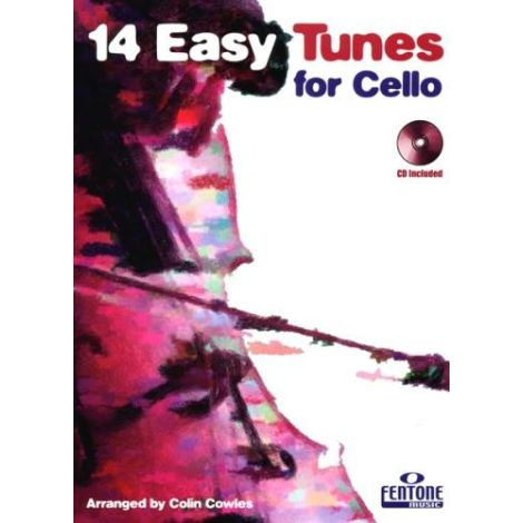 14 Easy Tunes for Cello (Cello & Piano/CD)