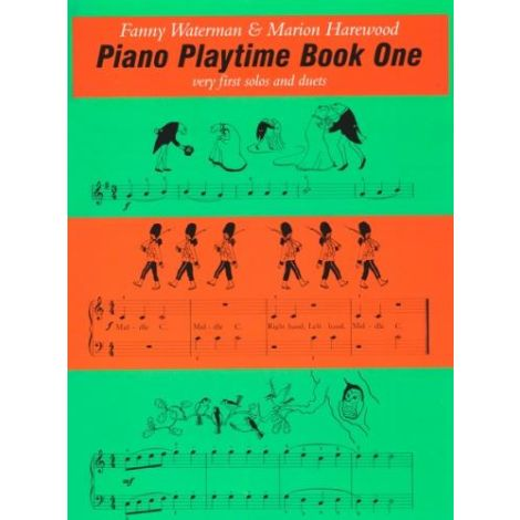 Piano Playtime. Book 1 - Waterman & Harewood