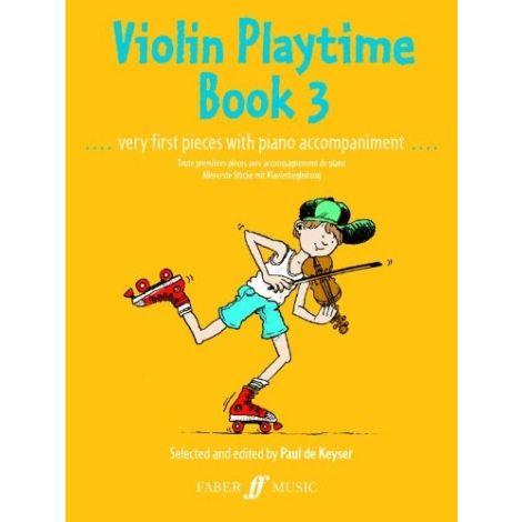 Violin Playtime Book 3 (Violin and Piano)
