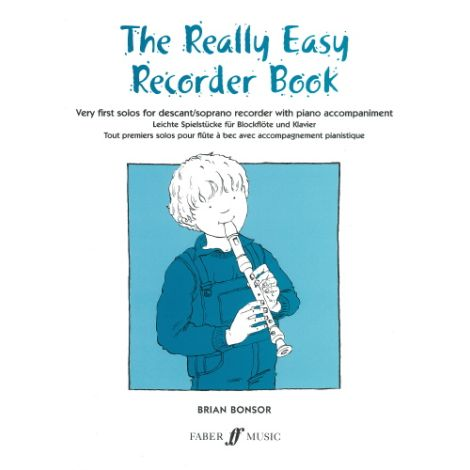 The Really Easy Recorder Book (with piano)