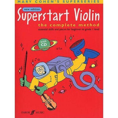Cohen: Superstart Violin - Complete Method (Book/CD)