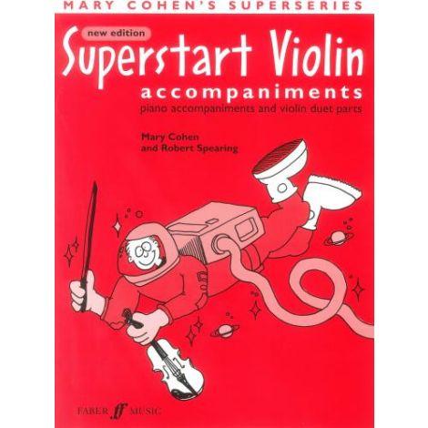 Cohen: Superstart Violin (accompaniments)
