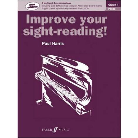 Paul Harris: Improve Your Sight-Reading! - Grade 4 Piano (2009 Edition)