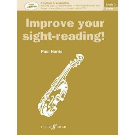 Improve your sight-reading! Violin Grade 3 (New edition)
