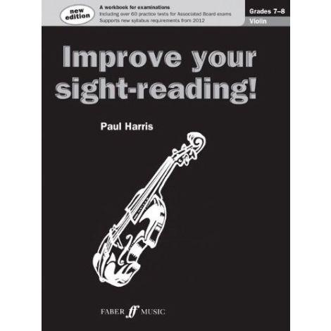 Improve your sight-reading! Violin Grades 7-8 (New Edition)