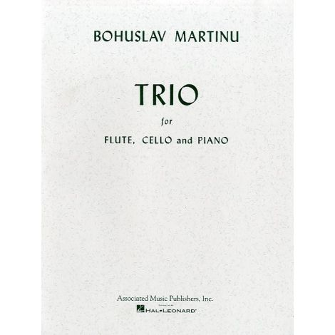 Bohuslav Martinu: Trio For Flute, Cello And Piano (Parts)