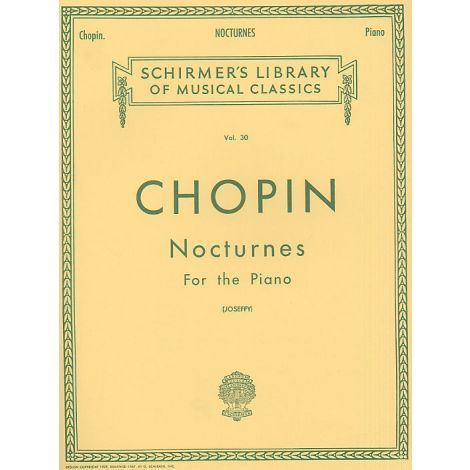 Frederic Chopin: Nocturnes For The Piano
