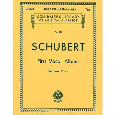 Franz Schubert: First Vocal Album For Low Voice