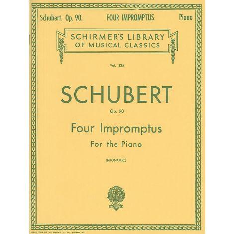 Franz Schubert: Four Impromptus For Piano Op.90