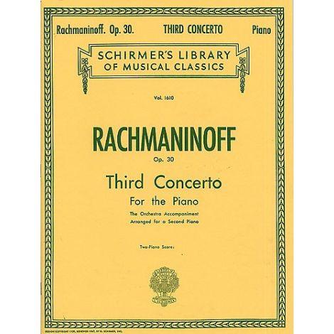 Sergei Rachmaninov: Piano Concerto No.3 Op.30 (2 Piano Score)