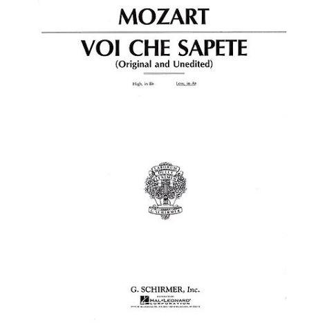 W.A. Mozart: Voi Che Sapete (The Marriage Of Figaro) - Medium Voice