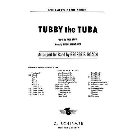 George Kleinsinger: Tubby The Tuba (Parts)