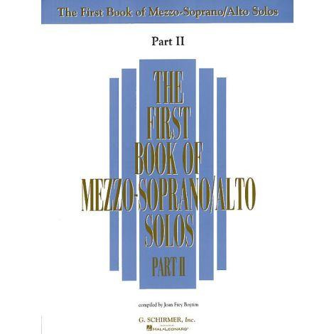 The First Book Of Mezzo-Soprano/Alto Solos Part II