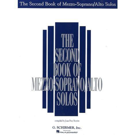 The Second Book Of Mezzo-Soprano/Alto Solos