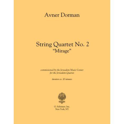 Avner Dorman: String Quartet No. 2 - Mirage