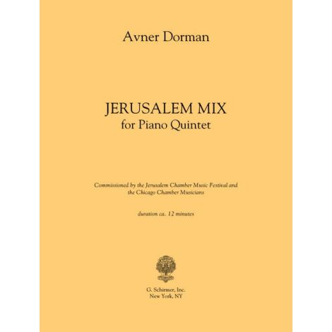 Avner Dorman: Jerusalem Mix