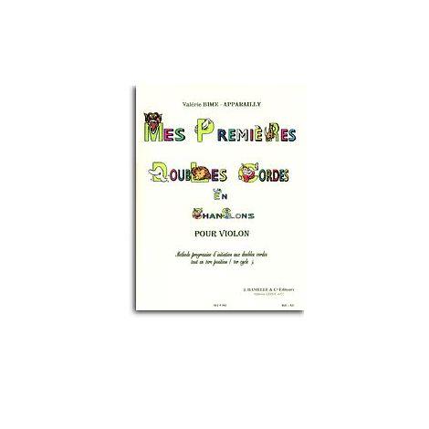 Val闂佽偐鍘у畵鎭慹 Bime-Apparailly - Mes premi闂佺粯姘ㄩ獮宸坰 doubles cordes en chansons pour violon
