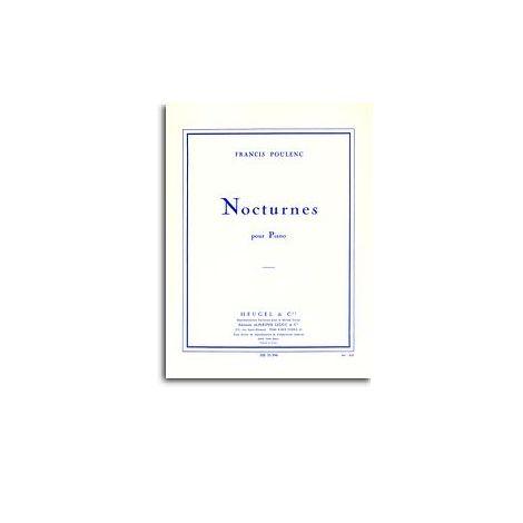 Poulenc: Nocturnes Recueil Piano