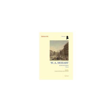 Mozart 12 petites pi闂佺粯姘ㄧ敮鐚爏 - piano solo