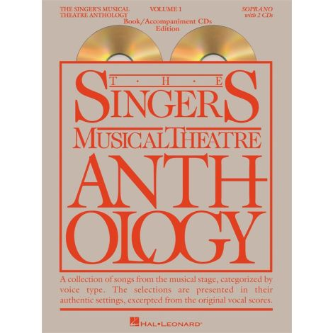 The Singer's Musical Theatre Anthology - Volume 1 (Soprano) Book/2CDs