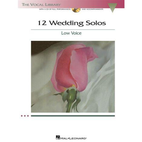 12 Wedding Solos - Low Voice