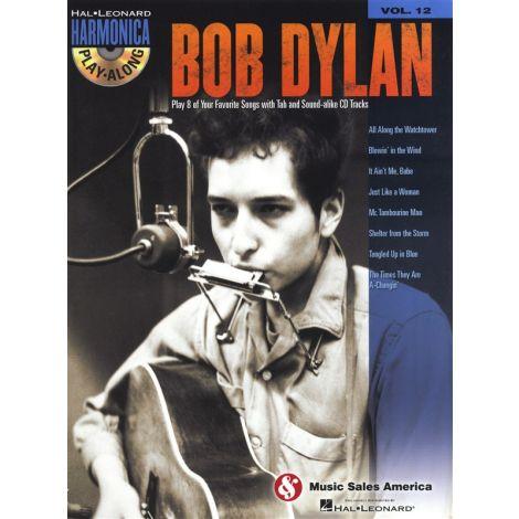Harmonica Play-Along Volume 12: Bob Dylan