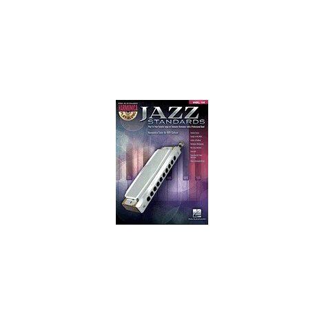 Harmonica Play-Along Volume 14: Jazz Standards (Book/CD)
