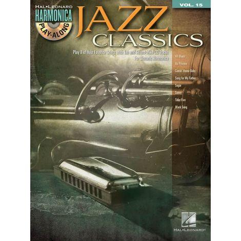 Harmonica Play-Along Volume 15: Jazz Classics