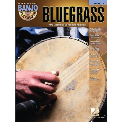 Banjo Play-Along Volume 1: Bluegrass