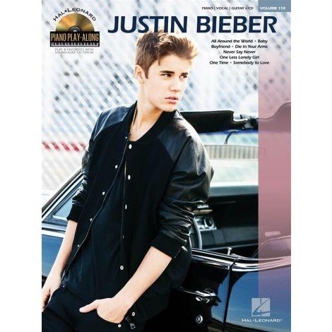Piano Play-Along Volume 110 - Justin Bieber