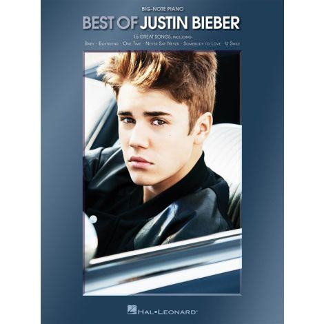 Best Of Justin Bieber - Big-Note Piano