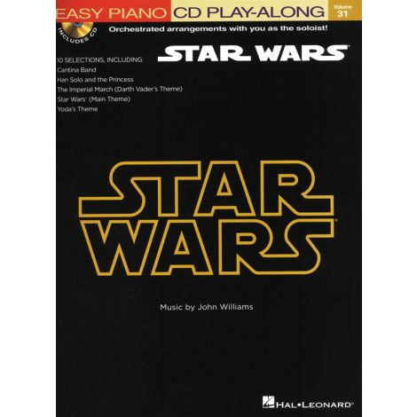 Easy Piano CD Play-Along Volume 31: Star Wars