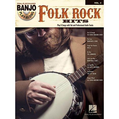 Banjo Play-Along Volume 3: Folk Rock Hits (Book/CD)