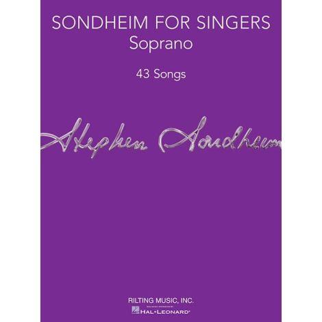 Sondheim For Singers: Soprano