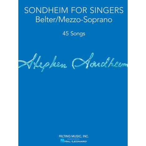 Sondheim For Singers: Belter/Mezzo-Soprano