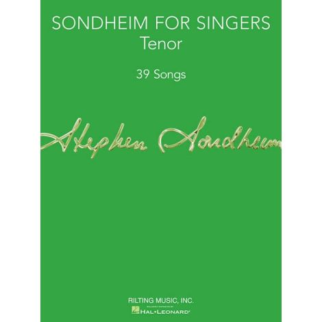 Sondheim For Singers: Tenor