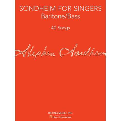 Sondheim For Singers: Baritone/Bass