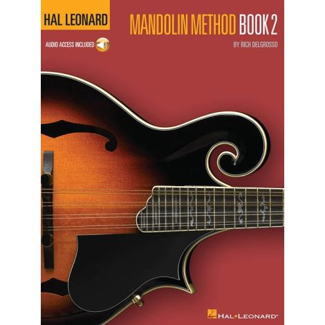 Hal Leonard Mandolin Method 闂 Book 2 (Book/Online Audio)