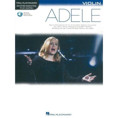 Hal Leonard Instrumental Play-Along: Adele - Violin (Book/Online Audio)