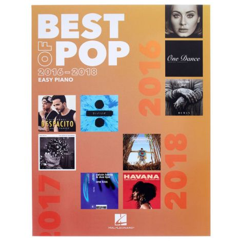 BEST OF POP 2016-2018 EASY PIANO