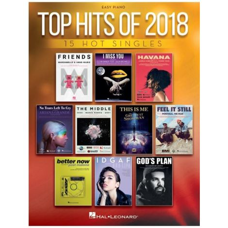 TOP HITS OF 2018 EASY PIANO
