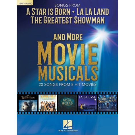 SONGS FROM MOVIE MUSICAL EASY PIANO