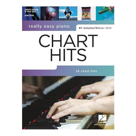 REALLY EASY PIANO CHART HITS AUTUMN WINTER 2018