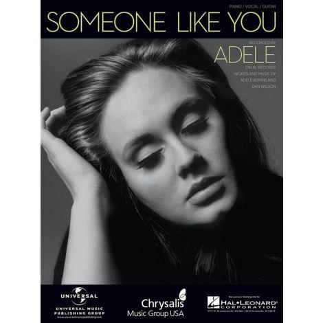 Adele: Someone Like You (Piano/Vocal)