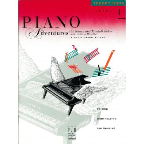 Piano Adventures - Theory Book - Level 1