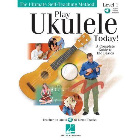 Play Ukulele Today! Level 1 (Book/Online Audio)