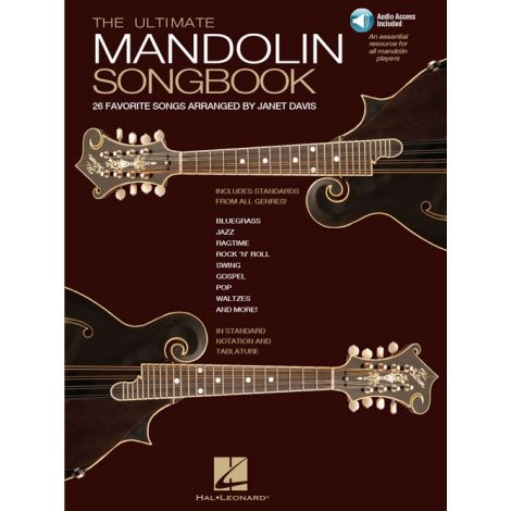 The Ultimate Mandolin Songbook (Book/Online Audio)