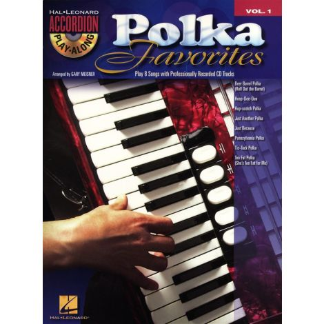 Accordion Play-Along Volume 1: Polka Favourites