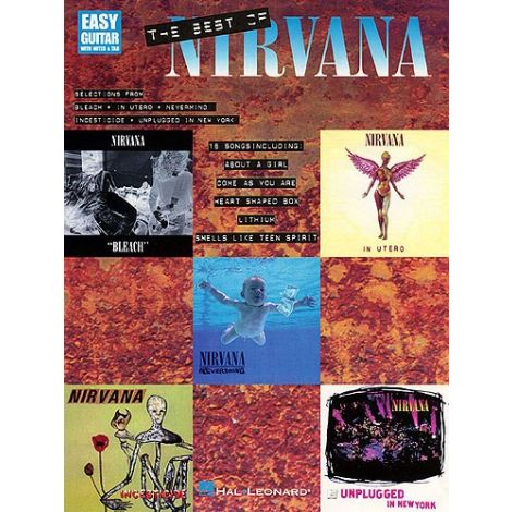 Nirvana: The Best Of (Easy Guitar)