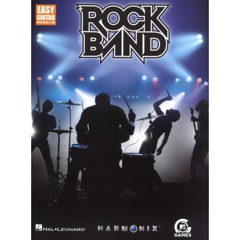 Rock Band: Easy Guitar with Notes and TAB